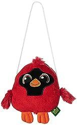 Wild Republic Purse Clasp Audubon Cardinal
