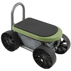 Amazon Com Easy Up Atv Gardening Seat On Wheels Yard