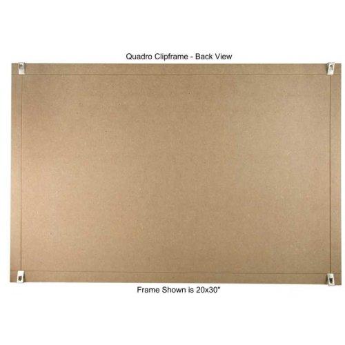 quadro clip frame 24 215 36 inch borderless frame classic
