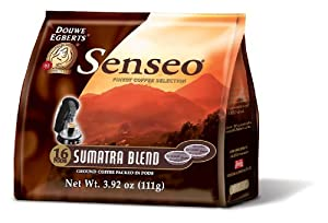 Senseo Premium Coffee Pods for Philips Senseo, Hamilton Beach and other single serve coffee makers (18 count)