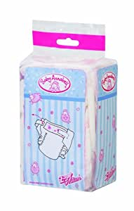 Zapf Creation 760246 Baby Annabell Nappies