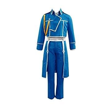 Fullmetal Alchemist Cosplay Costume - Colonel Roy Mustang Uniform1st X-Large