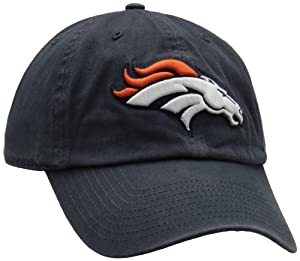 NFL Denver Broncos Franchise Fitted Hat, Navy, Medium