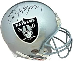 Bo Jackson Autographed Hand Signed Oakland Raiders Full Size Replica Helmet- Steiner... by Hall of Fame Memorabilia