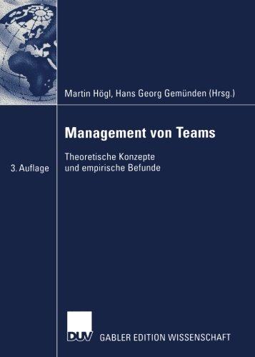 Management von Teams: Theoretische Konzepte und empirische Befunde (German Edition)