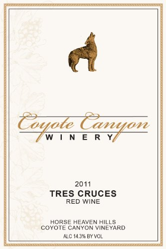 """2011 Coyote Canyon Winery """"Tres Cruces"""" Syrah Based Rhone Blend 750Ml"""
