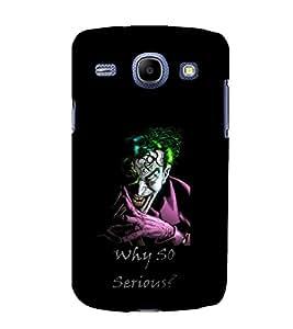 printtech Joker Why So Serious Back Case Cover for Samsung Galaxy J2 / Samsung Galaxy J2 J200F