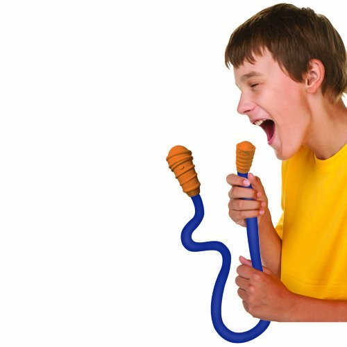 Game / Play First Act Ws104 Dynamic Wrapstar Microphone, Twist And Mold The Mic Into Any Shape, Cardioid Blue Toy / Child / Kid