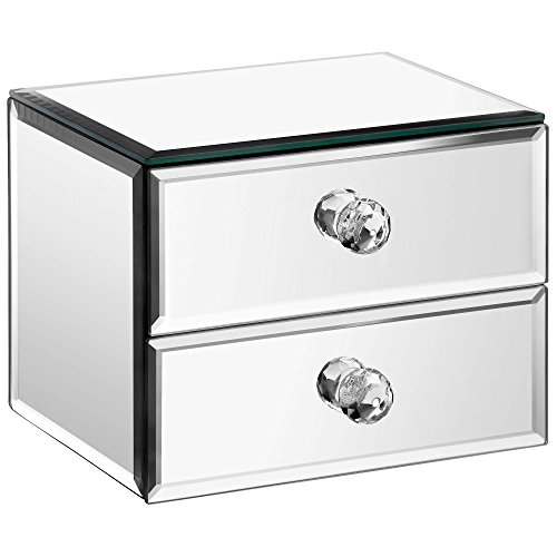 beautify-mirrored-glass-jewellery-box-with-2-drawers-velvet-lining-includes-glass-cleaning-cloth