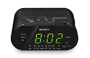 Sony ICF-C218 Clock Radio (Black) (Discontinued by Manufacturer)