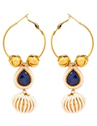Akshim Multicolour Alloy Earrings For Women - B00NPYBF0C