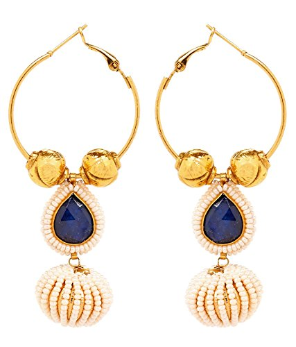 Akshim Multicolour Alloy Earrings For Women - B00NPYBF0C