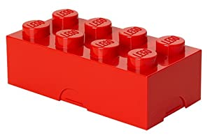Lego Lunch Box 8 Red