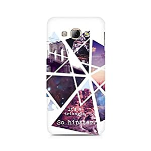 Ebby So Hipster Premium Printed Case For Samsung A8