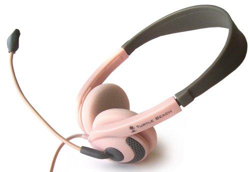 Nintendo Ds Ear Force D2 Stereo Headphones + Boom Mic (Pink)