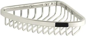 KOHLER K-1898-SN Small Shower Basket, Vibrant Polished Nickel