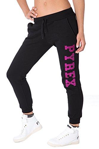 PYREX - Pantaloni donna con stampa regular fit 33018 s fuxia
