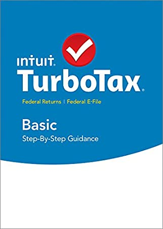 TurboTax Basic 2015 Federal + Fed Efile Tax Preparation Software - PC Download
