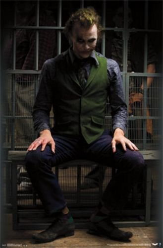Heath Ledger's plays the Joker
