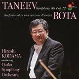 タニェエフ:交響曲第4番/ロータ:交響曲第4番