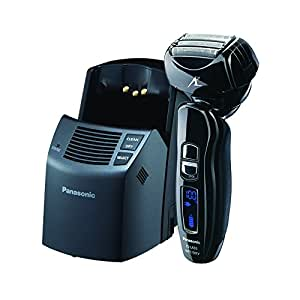 Panasonic Arc4 Electric Razor, Men's 4-Blade Cordless with Wet/Dry Convenience, Automatic Premium Clean & Charge Station Included, ES-LA93-K