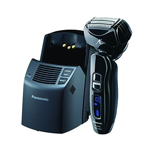 Panasonic ES-LA93-K, Arc4 Electric Razor, Men's 4-Blade with Multi-Flex Pivoting Head and Dual Motor, Premium Automatic Clean & Charge Station Included, Wet or Dry Operation (Panasonic Eyebrow Shaver compare prices)