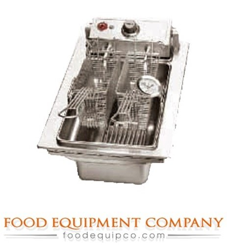 Wells F-556 Fryer drop-in electric single pot 15 lb. fat capacity thermostatic c (Drop In Fryer compare prices)