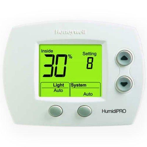 Honeywell H6062A1000 HumidiPro Digital Humidistat/Dehumidistat - 1