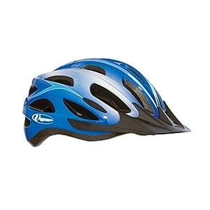 Vigor Helmets Rapid In-Mold 17 Vents Helmet, Adult Large/58-63cm, Blue/Light Blue