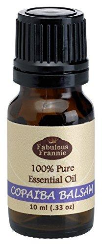 Copaiba Balsam 100% Pure, Undiluted Essential Oil Therapeutic Grade - 10ml
