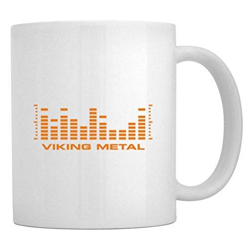 Teeburon Viking Metal Equalizer Mug