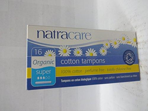 NATRACARE TAMPONS,SUPER W/APPLCT 16 CT 1-EA