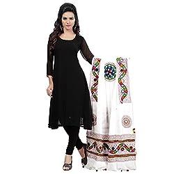 Banjara WomenS Cotton Stoles & Dupattas Kutchi Mirrorwork (Kch02 _Pure White _Handicraft Dupatta_Free Size)