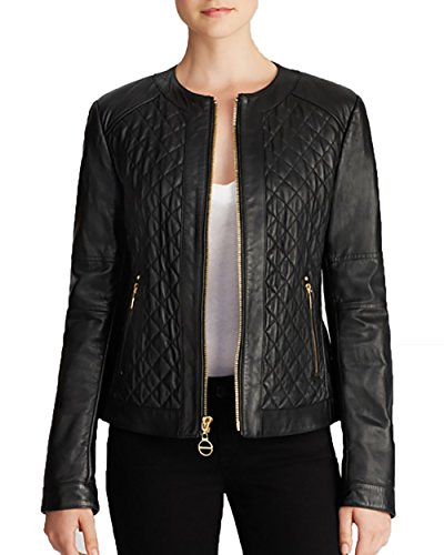 Laundry by Shelli Segal Quilted Leather Jacket левомицетина сукцинат в иркутске