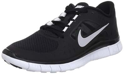 Nike Lady Free Run+ V3 Running Shoes - 5.5 - Black