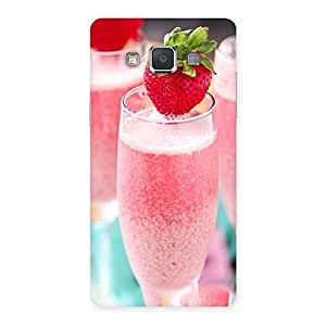 Premium Strawberry Shake Back Case Cover for Galaxy Grand 3