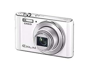 CASIO デジタルカメラ EXILIM EX-ZS190WE 広角24mm 光学12倍ズーム プレミアムオート 1610万画素 ホワイト