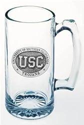 Texas A&M Aggies Glass Super Stein (Beverage Mug) 25 oz - NCAA College Athletics