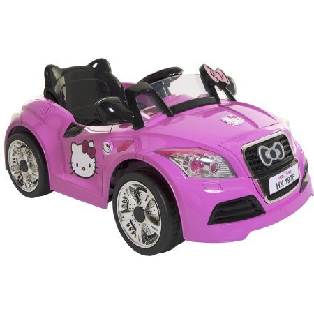 Dynacraft-Hello-Kitty-6V-Sports-Car-Battery-Powered-Ride-On