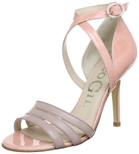Paco Gil P-2458, Sandali col tacco donna, Rosa (Pink (LIGHT PINK)), 41