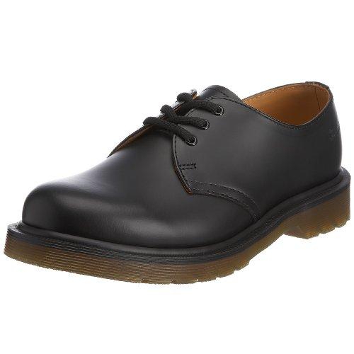 Dr. Martens Adult's 11839002 original 3 eyelet shoe 1461 Black 7 UK