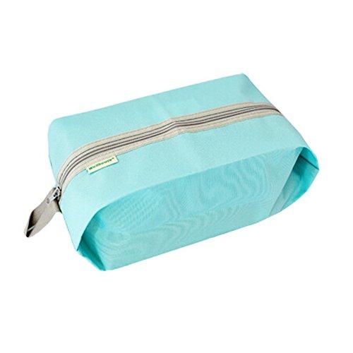 Generic Portable Waterproof Travel Shoe Bag and Storage Bag Zipper Closure (390*180*130mm)