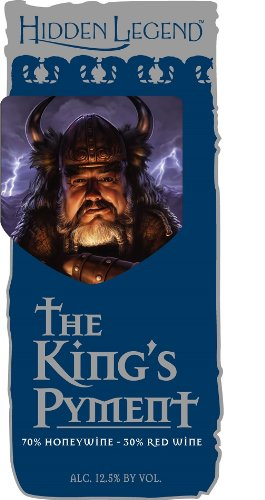 """Nv Hidden Legend """"The King'S Pyment"""" Mead 750 Ml"""
