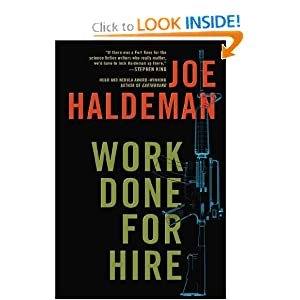 Work Done for Hire by Joe Haldeman