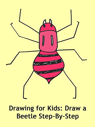 Drawing for Kids: Draw a Beetle Step-By-Step