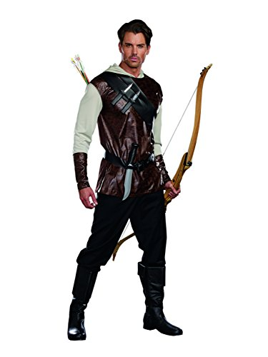 Dreamguy by DG Brands Men's Fairytale Hunter Costume, The Huntsman
