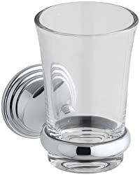KOHLER K-10561-CP Devonshire Tumbler and Holder, Polished Chrome