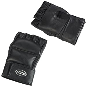Altus Athletic Altus 4-Pound Weighted Training Gloves, Small/Medium