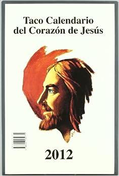 Taco Calendario del Corazón de Jesús 2012 (Gigante