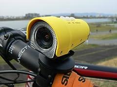 ドライブレコーダー HDメガピクセル高画質 自転車/バイク用 防水仕様